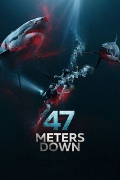 47 Meters Down - Claire Holt - Mandy Moore - horror - horrormovie - greatwhite - whiteshark Mandy Moore, Claire Holt, Movies And Series, Movies And Tv Shows, Peliculas Online Hd, Hd Movies Online, 2017 Movies, Kino Film, English Movies