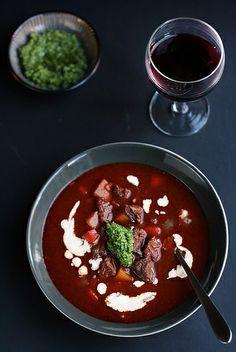 Goulash-style Soup