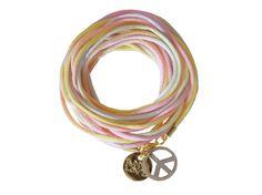 Hippie Armband PEACE PASTELL von LAUTERLABELS auf Etsy, €29.00