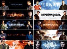 All Supernatural logos