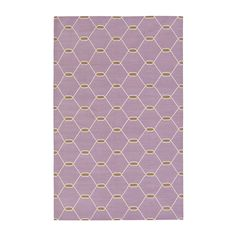 Lilac Chi Chi Kari Cotton Carpet | MADELINE WEINRIB - 1