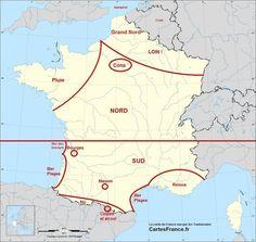 La France vue par les toulousains :)