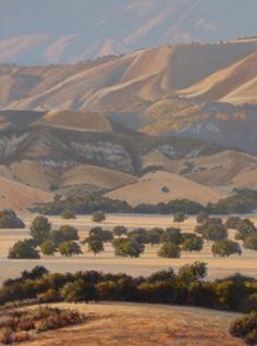 Valley Gold 16x12 -- George Lockwood
