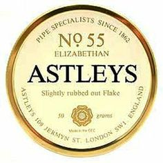 Astleys No. 55 Elizabethan Pipe Tobacco | 4noggins.com