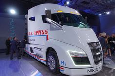With a claimed range of 1,200 miles and massive amounts of emissions-free power, could the Nikola One revolutionize trucking?