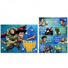Toy Story Game Time Invitations (8)