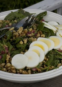 Fresh Spinach Salad With Pomegranate a great recipe for Rosh Hashana: Take Five | cleveland.com