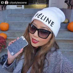 #Repost @citystylescene  When your phone case matches your outfit - #winning.  Adore my new luxe wool phone case from @luxboxcase! So fitting for this fall weather. It's sleek super light and protects my beloved iPhone. Makes the perfect unique gift this holiday season.  (Lipstick is @maccosmetics Rebel)  #stylish #fashion #photooftheday #amazing #picoftheday #style #swag #instacool #iphoneonly  #instagramers #instagood #photography #beautiful #dapper #stylish
