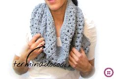 Cuello de lana de crochet - Tutorial paso a paso DIY