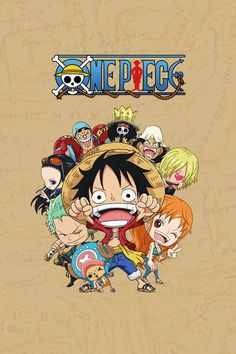 Chibi wallpaper backgrounds that amde your favorite One Piece characters that cutest thing! One Piece Anime, One Piece Cartoon, One Piece Luffy, One Piece Wallpaper Iphone, Chibi Wallpaper, Wallpaper Backgrounds, Yamaguchi, Brooks One Piece, One Piece Crew