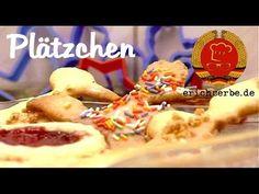 Plätzchen (von: erichserbe.de) - Essen in der DDR: Koch- und Backrezepte für ostdeutsche Gerichte | Erichs kulinarisches Erbe