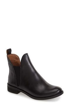 Lucky Brand 'Nocturno' Chelsea Boot leather black, brindle 5sh 1h sz7.5 138.95