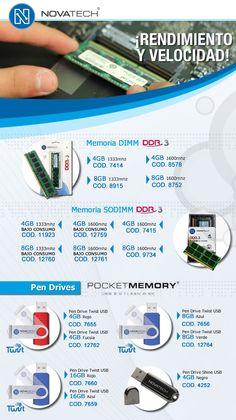 Novatech #memorias #pendrives   www.gvinformatica.com.ar #Olivos_VL #VecinosVL #FloridaEsteVL