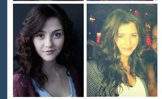 Katie Findlay and Eleanor Calder....they look so much alike