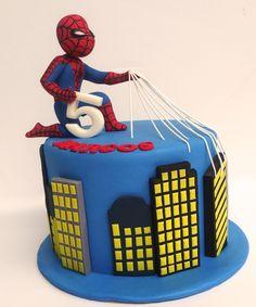 https://flic.kr/p/FCvmxf | spiderman cake