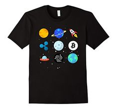 Bitcoin BTC Crypto to the Moon Shirt Featuring UFO ROCKET This is the perfect shirt for all bitcoin enthusiasts, investors, miners, btc lovers, traders, and anyone interested in cryptocurrency