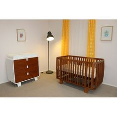 Beautiful Bloom Retro Furniture Package available from BabyTales au Retro Cot mattress
