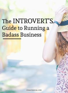 Business tips | Introvert guide to business | Bloggers that don't want the limelight?