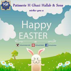 نتمنى عيد فصح مجيد لجميع اللبنانيين، وينعاد عليكم بالصحة والخير والبركة  Spirit of Easter is all about Hope , Love & Joyful living , Happy Easter to everyone! :)