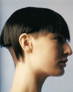 Erin O'Connor by David Sims [ Good Head, Hair by Guido. The CV. ]