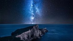 Milky Way over Neist Point Lighthouse, Isle of Skye, Scotland - Bing Wallpaper. Bing daily images are all in bing. Provides Bing daily wallpaper images gallery for several countries. Ciel Sombre, Bing Backgrounds, United Kingdom Image, Basalt Rock, Destinations, Light Pollution, Skye Scotland, Across The Universe, Sky