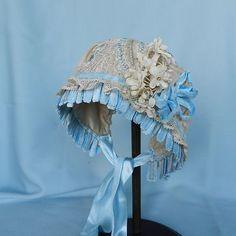 Antique Lace Tulle Bonnet Antique French BEBE Bru Kestner Doll | eBay