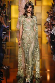 Elie Saab Fall 2015 Couture Fashion Show - Antonina Petkovic (Elite)
