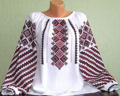"""#вишиванка, жіноча вишивана блузка """"Подільська"""" (Арт. 01857)"""