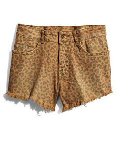 Leopard Cut-Offs