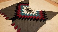 Ravelry: knitlomat's Evening Mesa Blanket