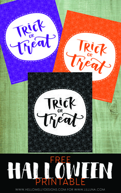 Free Trick or Treat