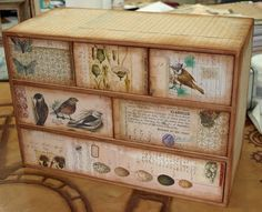 Dragonfly Dreamers: Altering a set of drawers
