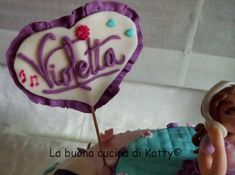 La buona cucina di Katty: Torta Violetta Disney ..... per il compleanno di Rebecca Violetta Cake, Violetta Disney, Desserts, Food, Kids, Dress, Tailgate Desserts, Toddlers, Costume Dress