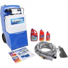 Rug Doctor Upright Wide Track Pro Carpet Cleaner with Tools and Shampoo Carpet And Upholstery Cleaner, Carpet Cleaner Vacuum, Carpet Cleaners, Hallway Carpet Runners, Cheap Carpet Runners, Backpack Vacuum, Home Depot Carpet, Carpet Cleaning Equipment, Rug Doctor