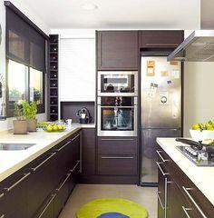 Kitchen Kitchen Cabinets, House Design, Home Decor, Ideas, Kitchen Dining Living, Modern Kitchens, Home Design, Trendy Tree, Architecture