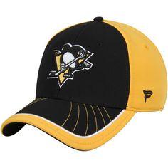 Pittsburgh Penguins Transition Flex Hat - Black