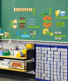Loving this Advanced Math Interactive Peel, Play & Learn Wall Decal Set on #zulily! #zulilyfinds