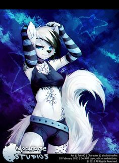 wolf anthro soldier female - Google Search