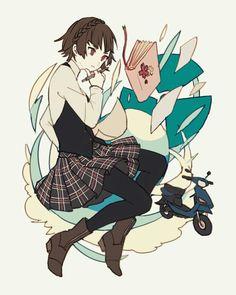if you have saved follow me Got Anime, Manga Anime, Persona Five, Persona 5 Joker, Persona 5 Makoto, Makoto Niijima, Character Art, Character Design, Shin Megami Tensei Persona