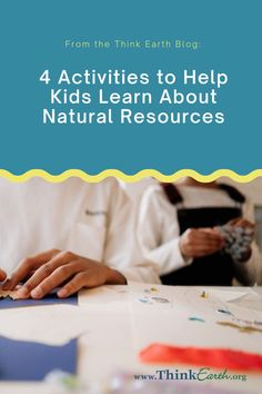 When kids understand that everything comes from the natural environment, they are more likely to engage in behaviors that conserve resources, reduce waste, and minimize pollution. Here are some activities to help kids practice identifying the resources used to make things they use every day. Earth Day Activities, Science Activities For Kids, Science Lessons, Hands On Activities, Learning Activities, Kids Learning, Help The Environment, Environmental Education, Reduce Waste