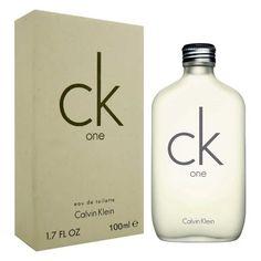 Ck One Unisex Calvin Klein 100 ml Edt Spray Best Perfume For Men, Best Fragrance For Men, Best Fragrances, Calvin Klein Fragrance, Calvin Klein Perfume, Calvin Klein One, Perfume Genius, First Perfume, Men's Cologne