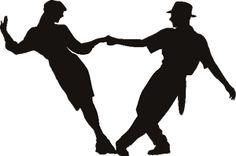 Couple Dancing 2 Vinyl Shape
