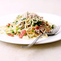 WeightWatchers.be - Weight Watchers Recepten - Spaghetti carbonara
