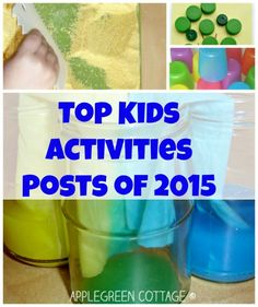 top kids activities posts - the ones you loved most on AppleGreen Cottage. And check out the free tutorials page. Free Tutorials, Sewing Tutorials, Fun Activities For Kids, Preschool Activities, Homemade Crafts, Diy Crafts To Sell, Popular Crafts, Messy Play, Good Parenting