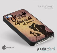 Beauty and the Beast for iPhone 4/4S, iPhone 5/5S, iPhone 5c, iPhone 6, iPhone 6 Plus, iPod 4, iPod 5, Samsung Galaxy S3, Galaxy S4, Galaxy S5, Galaxy S6, Samsung Galaxy Note 3, Galaxy Note 4, Phone Case