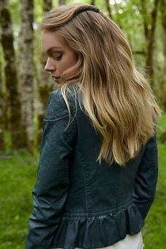 Fayette Jacket...every woman needs one. comes in brown as well #anthrofave