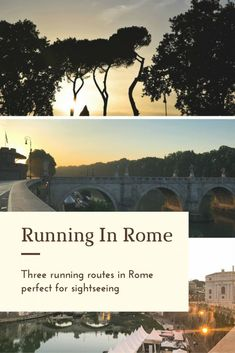 Best places to run in Rome via @thethoughtcard