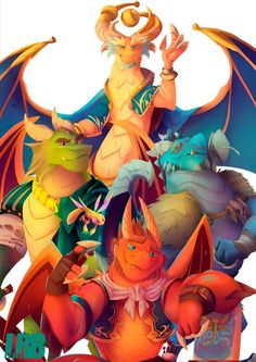 Fanart I made for Spyro Reignited Trilogy game, with all the Dragon Elders I made together. Thanks, Nicholas Kole, for these amazing concepts! Furry Pics, Furry Art, Drawing People, Drawing S, People Drawings, Spyro Characters, Spyro Trilogy, Spyro And Cynder, Anthro Dragon