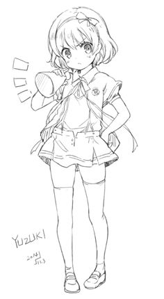 pema@anime Anime Drawings Sketches, Anime Sketch, Cute Drawings, Anime Girl Cute, Anime Art Girl, Manga Art, Cute Anime Character, Character Art, Character Design