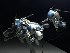 ルナダイバー月面迎撃機「KOMET」